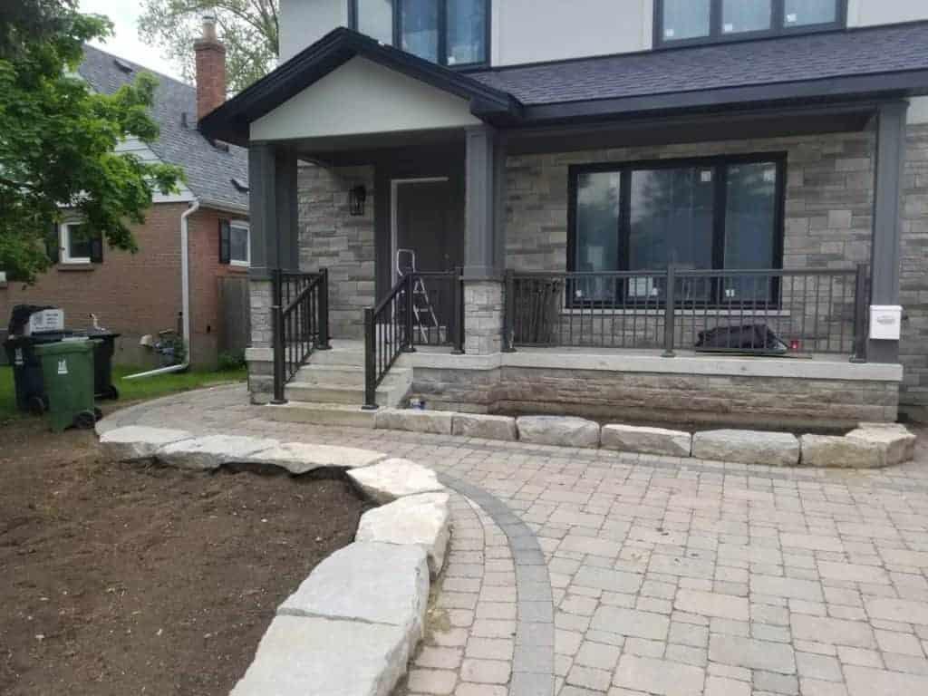 porch railing toronto