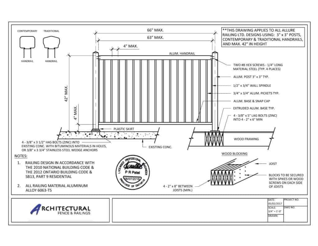 buy railings toronto